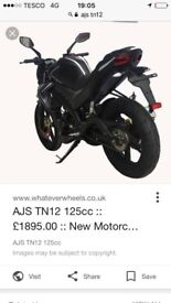 Ajs tn12 motorbike excellent condition only selling as want a new bike