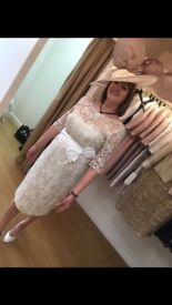 John Charles Mother of the Bride Dress and Hat