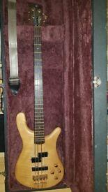 1990 Warrick Streamer LX Bass Guitar