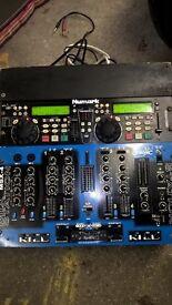 cd dj mix station