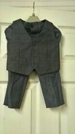 waiscoat and trouser, Next 12-18 months