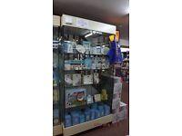 Glass retail Display Gabinet