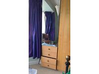 Wardrobe IKEA with Mirror