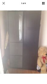 Ikea pax wardrobe 2 seperate cupboards can be sold as a pair or individually