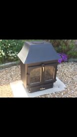 Clearview 650 Log Burner Wood Burner multifuel stove