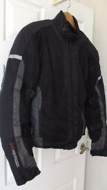 Torque Textile Motorcycle Jacket size Large
