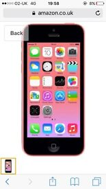 Apple IPhone 5c pink ...sell or swap!!
