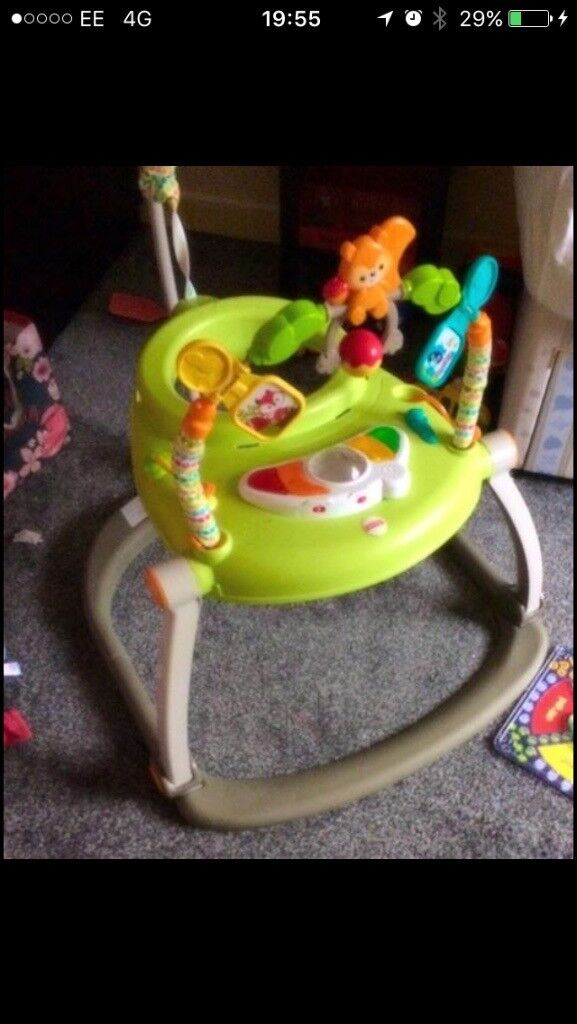 Fisher price woodlands jumparoo