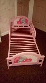 Me to You toddler bed