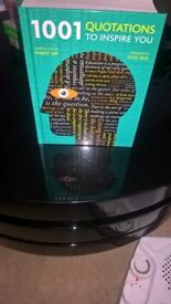 1001 Quotations To Inspire You. In very good condition - Collection Only