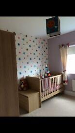 Mamas and papas timbuktales nursery set