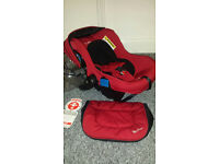 Silver Cross complete travel system (carry cot, pram and car seat)