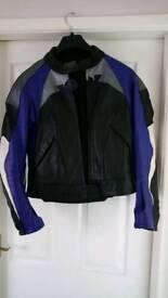 Revit leather motorcycle jacket size 40.