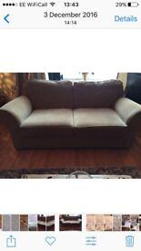 2 seater sofa, neutral colour