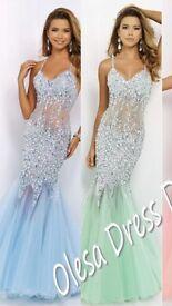 stunning prom dress (new)