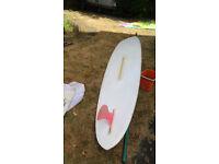 Windsurfer. kit and 3 sails.
