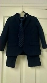 18-2 years Navy suit from Next