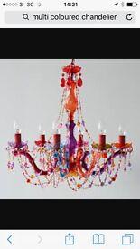 Colourfull gypsy chandelier