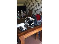 BELL MOTORCROSS HELMET NEVER USED Ktm