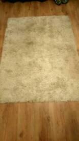 Cream large rug