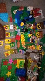 massive bundle of duplo lego
