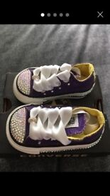 Baby Girl Size 2 Converse