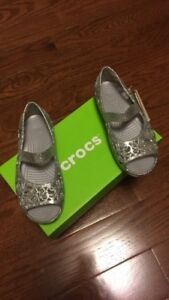 Girls Crocs- size 12 (brand new with box!)