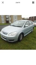 Toyota Corolla 2005, 1.4 petrol £1295 only