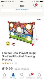 Young boys goal set
