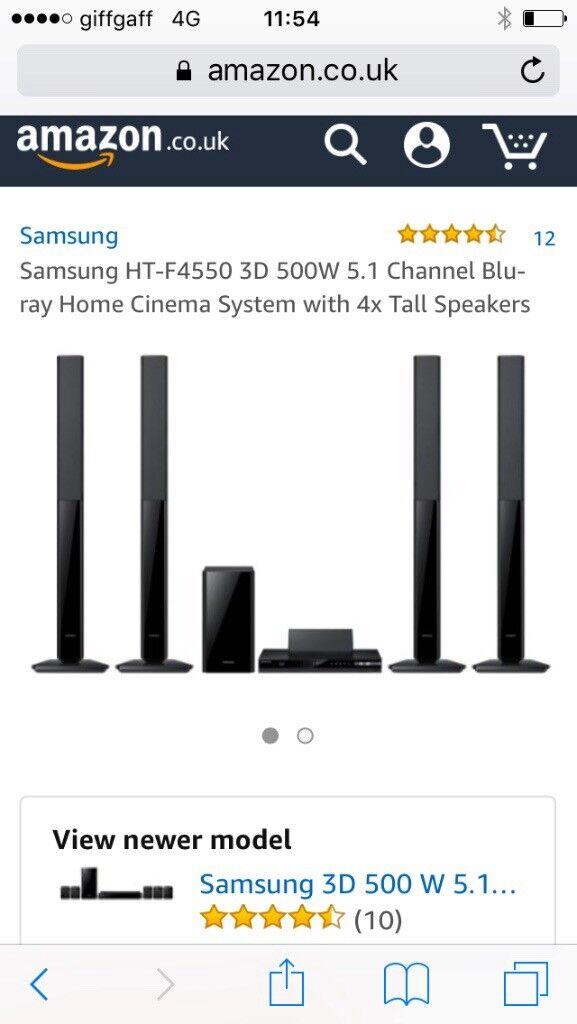 Brand new Samsung blue ray surround system