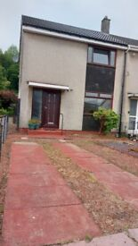 Spacious 2 Bedroom End of Terrace House for Rent / Let within Renton, Dumbarton