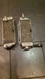Yamaha yz 426 radiators