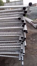 HERAS FENCE 3450mm X 2000mm ROUND TOP, EXCELLENT CONDITION OR NEW