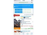 £90 Weekend getaway village hotel Warrington with dinner 12-14 May