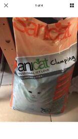 CLUMPING CAT LITTER - SANICAT - 20L