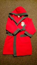 Liverpool dressing gown age 4-6