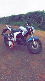 Lexmoto venom motorbike 125cc