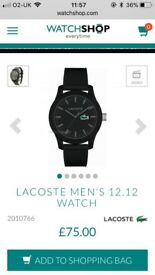 Lacoste watch men's brand new in box