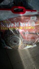 SNOWCHAINS FOR SALE.