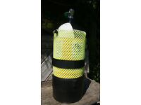 Dive Equipment - 10Ltr Dumpy Tank - Life Jacket - Regulator with two Breathers Plus more