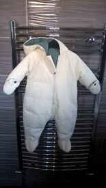 marks and spencer baby snowsuit