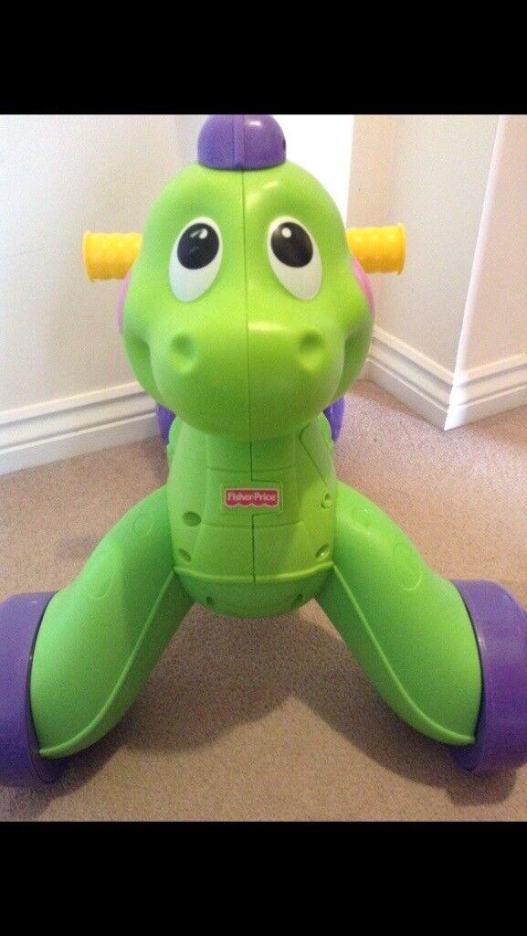 Fisher price stride to ride dinosaur