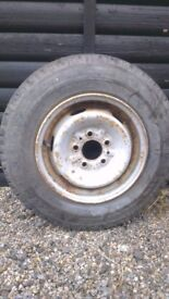 talbot express wheel and tyre