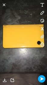 Yellow Nintendo DSI XL
