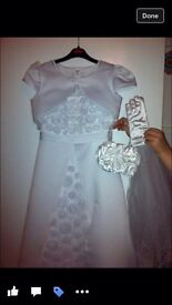 Communion dress and all accessories smoke free home