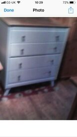 Lebus Dressing Table & Chest of Drawers