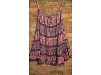 Hippy bohemian style skirt
