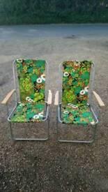 1960s garden chairs