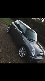 Mini Cooper S Grey 66000 miles 1.6 litre supercharged engine 175BHP full leather seats