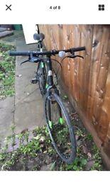 Hybrid bike newham